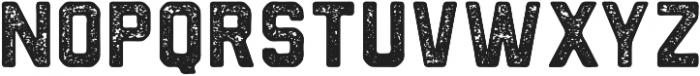 Northwest Round Textured ttf (400) Font LOWERCASE