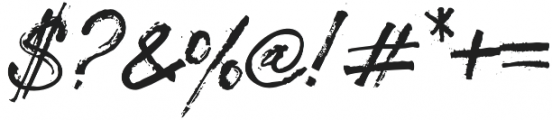Nostalgik Bold otf (700) Font OTHER CHARS