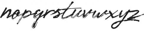 Nostalgik Bold otf (700) Font LOWERCASE