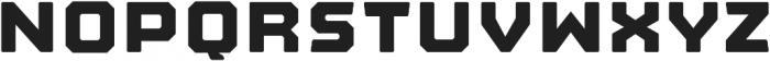 Nostromo Regular Heavy otf (800) Font UPPERCASE