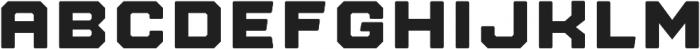 Nostromo Regular Heavy otf (800) Font LOWERCASE