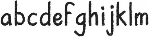 Not A Jot Regular otf (400) Font LOWERCASE