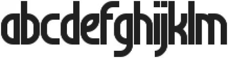Not Sure If Weird Or Just Regular ttf (400) Font LOWERCASE
