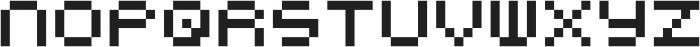 Notalot25 ttf (400) Font UPPERCASE
