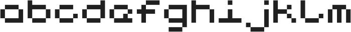 Notalot25 ttf (400) Font LOWERCASE