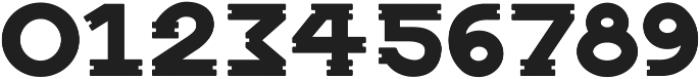 Notch Horizontal ttf (400) Font OTHER CHARS