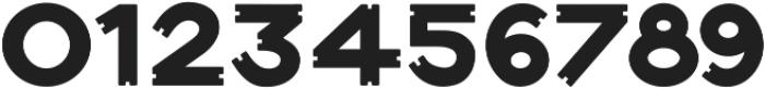Notch-Vertical-Regular ttf (400) Font OTHER CHARS