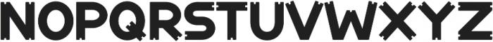 Notch-Vertical-Regular ttf (400) Font LOWERCASE