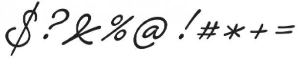 Notera 2 otf (300) Font OTHER CHARS
