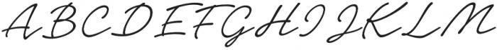 Notera 2 otf (300) Font UPPERCASE