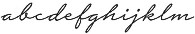 Notera 2 otf (300) Font LOWERCASE