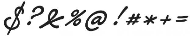 Notera 2 otf (500) Font OTHER CHARS