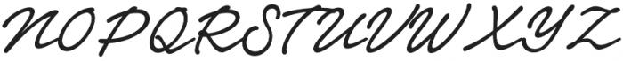 Notera 2 otf (500) Font UPPERCASE