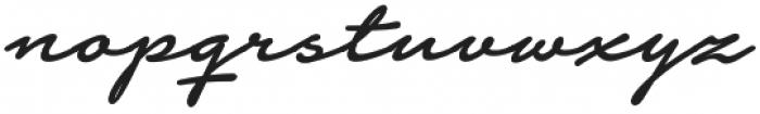 Notera 2 otf (500) Font LOWERCASE