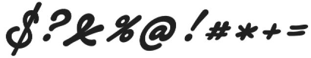 Notera 2 otf (700) Font OTHER CHARS