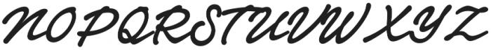 Notera 2 otf (700) Font UPPERCASE