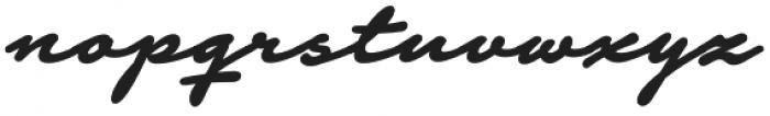 Notera 2 otf (700) Font LOWERCASE