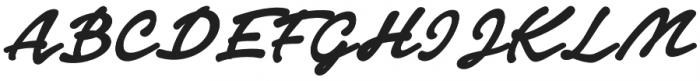 Notera 2 otf (900) Font UPPERCASE
