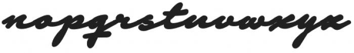 Notera 2 otf (900) Font LOWERCASE
