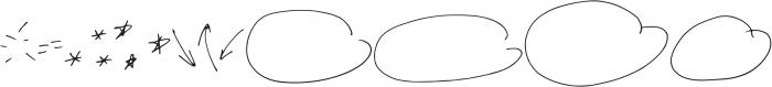 NotesandQuotesDoodles otf (400) Font UPPERCASE