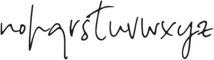 NotesandQuotesScript otf (400) Font LOWERCASE