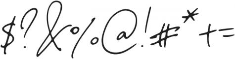NotesandQuotesSlant otf (400) Font OTHER CHARS