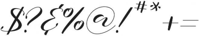 Notetail Stretch Regular otf (400) Font OTHER CHARS