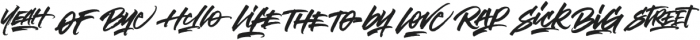 Notorious Catchwords Catchwords otf (400) Font UPPERCASE