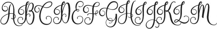 Nouradilla otf (400) Font UPPERCASE