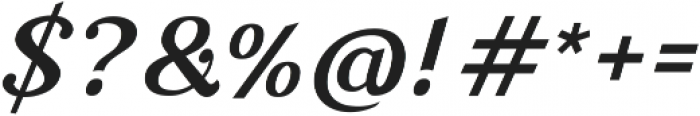 Nova Classic Bold Italic ttf (700) Font OTHER CHARS
