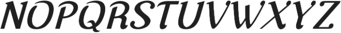 Nova Classic Bold Italic ttf (700) Font UPPERCASE