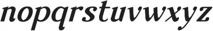 Nova Classic Bold Italic ttf (700) Font LOWERCASE