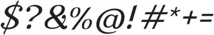 Nova Classic Italic ttf (400) Font OTHER CHARS