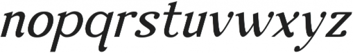 Nova Classic Italic ttf (400) Font LOWERCASE