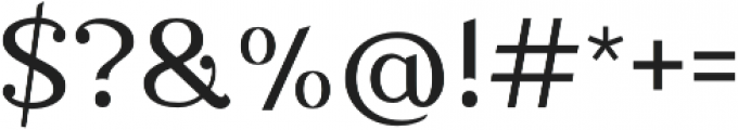 Nova Classic Regular otf (400) Font OTHER CHARS