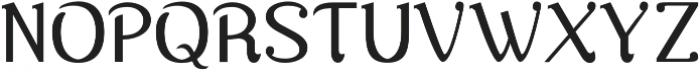 Nova Classic Regular otf (400) Font UPPERCASE