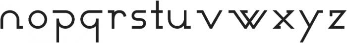 Novatny Bold ttf (700) Font LOWERCASE
