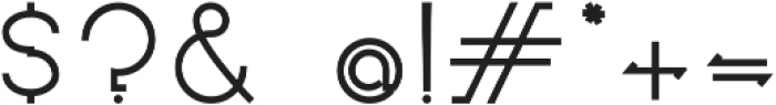Novatny Medium ttf (500) Font OTHER CHARS