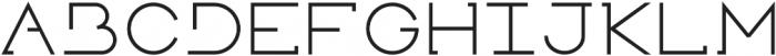 Novatny Medium ttf (500) Font UPPERCASE