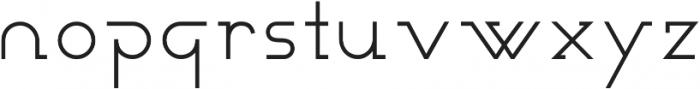 Novatny Medium ttf (500) Font LOWERCASE