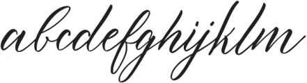 Novaturient otf (400) Font LOWERCASE