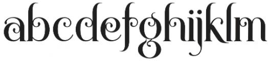 Novelia Regular otf (400) Font LOWERCASE