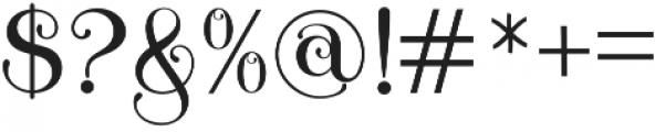 Novelia otf (400) Font OTHER CHARS