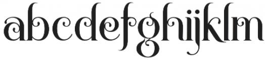 Novelia otf (400) Font LOWERCASE