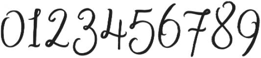 November Starlight Regular otf (300) Font OTHER CHARS
