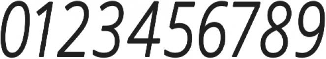 Novus-Light-Italic Regular otf (300) Font OTHER CHARS