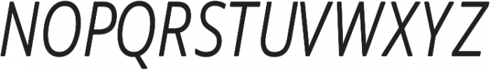 Novus-Light-Italic Regular otf (300) Font UPPERCASE