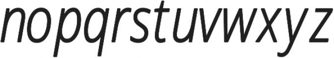 Novus-Light-Italic Regular otf (300) Font LOWERCASE