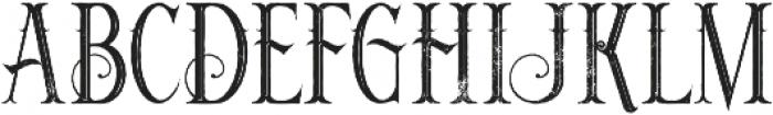 Noxa Inline Grunge otf (400) Font UPPERCASE
