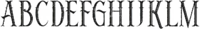 Noxa Inline Grunge otf (400) Font LOWERCASE